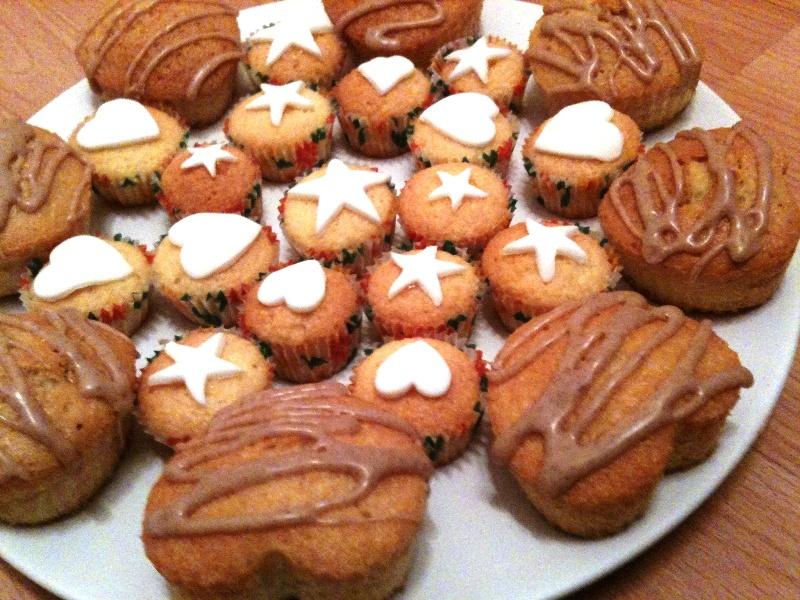 Amélie's Birthday Cup Cakes   Brownie's Blog