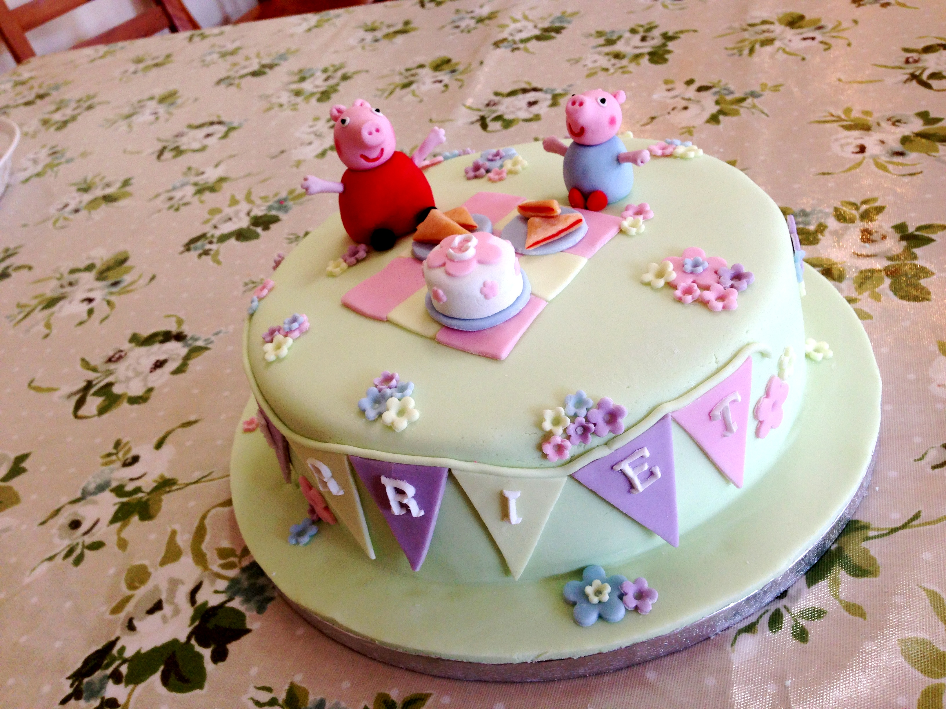 Peppa Pig Cake | Brownie's Blog